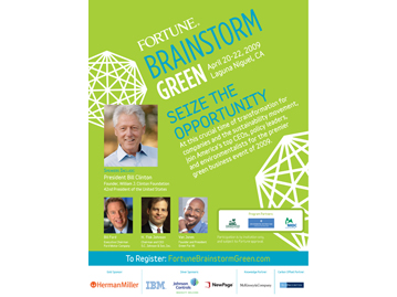 Brainstorm: GREEN Print Ad 2009