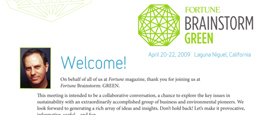 Brainstorm: GREEN Digital Program