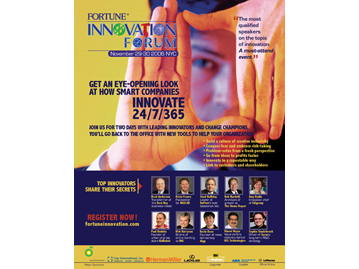 Innovation Forum Print Ad 2006