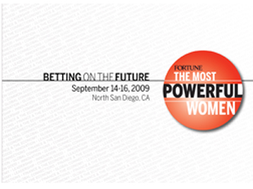 Most Powerful Women Direct Mail 2009