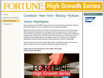 Fortune High Growth Series