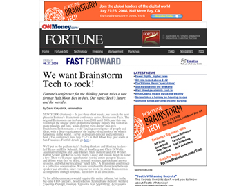 Brainstorm: TECH Banners 2008